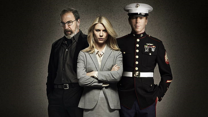 mandy patinkin, claire danes, damian lewis